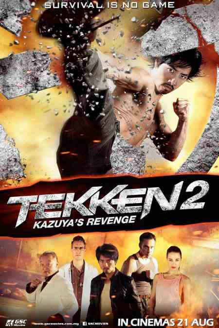 Tekken 2: A Man Called X cast, synopsis, trailer and photos.