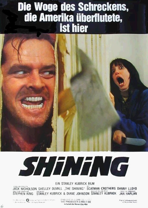 The Shining is similar to The Last Airbender.