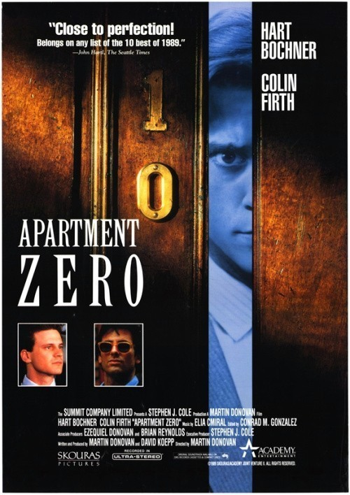 Apartment Zero is similar to A Quiet Place.
