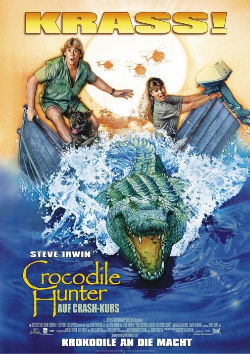 The Crocodile Hunter: Collision Course is similar to Moonwalkers.