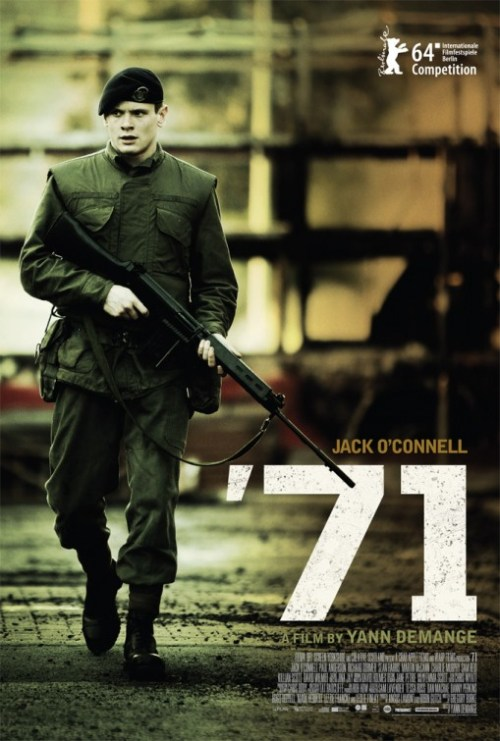 '71 cast, synopsis, trailer and photos.