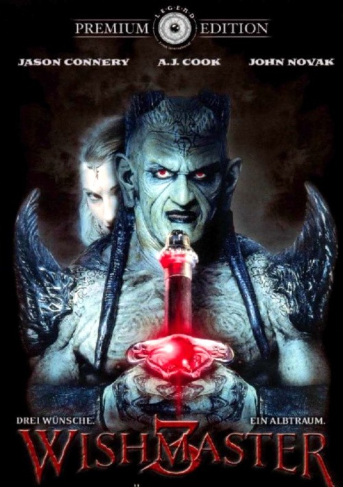 Wishmaster 3: Beyond the Gates of Hell cast, synopsis, trailer and photos.