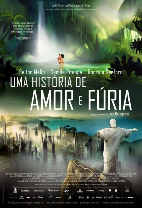 Uma História de Amor e Fúria is similar to Road Wars.