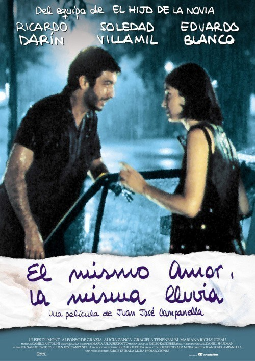 El mismo amor, la misma lluvia cast, synopsis, trailer and photos.