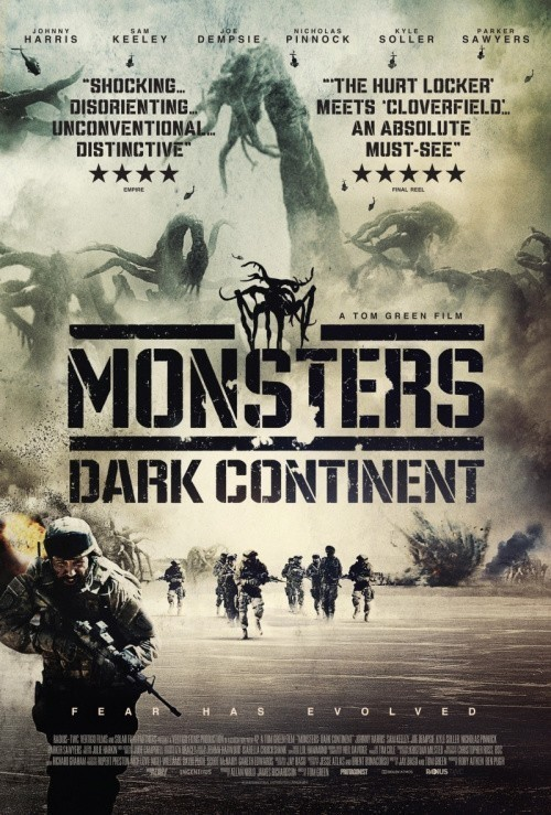 Monsters: Dark Continent is similar to Oblako-ray.