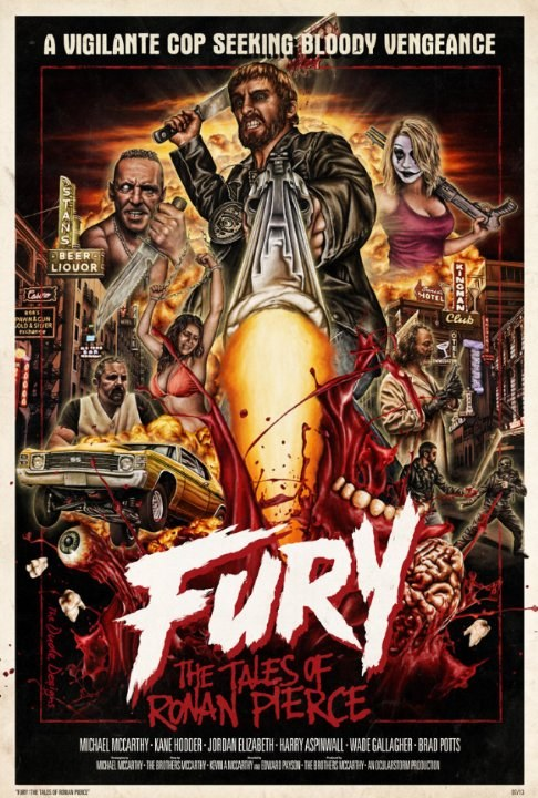 Movies Fury: The Tales of Ronan Pierce poster