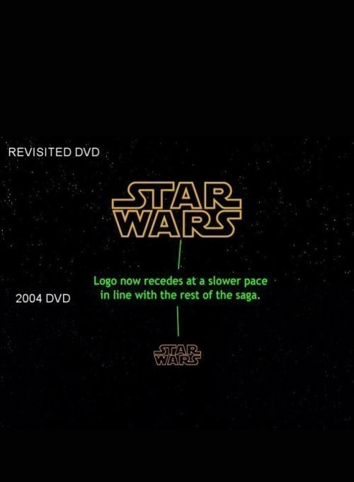 Star Wars Episode IV - A New Hope. «Revisited» is similar to Chappie.