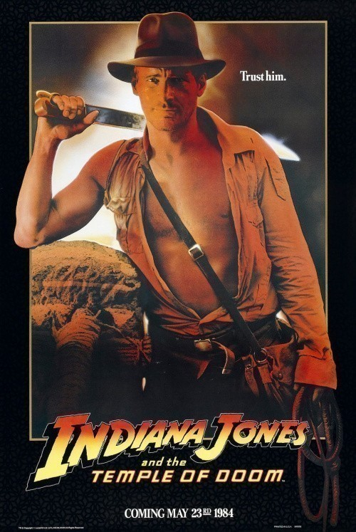 Indiana Jones and the Temple of Doom is similar to The Muse.