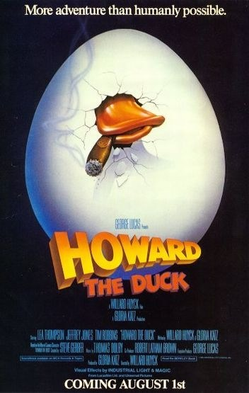 Howard the Duck is similar to Sluchaynaya zapis.