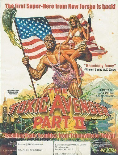 The Toxic Avenger, Part II is similar to The Game Plan.