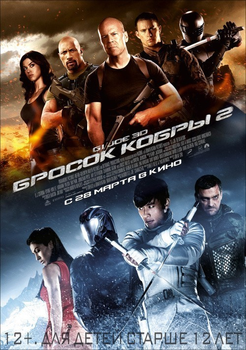 G.I. Joe: Retaliation is similar to The Importance of Being Earnest.