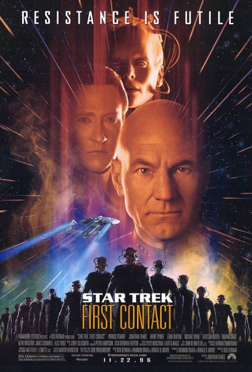 Star Trek: First Contact is similar to Escanaba in da Moonlight.