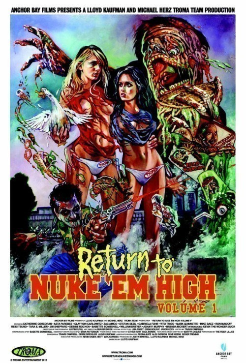 Return to Nuke 'Em High Volume 1 is similar to Sherlock: The Abominable Bride.