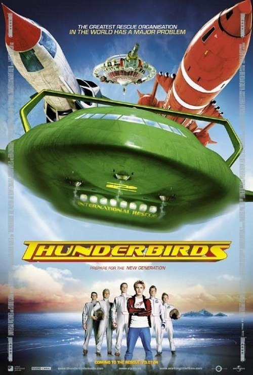 Thunderbirds is similar to Zipper.