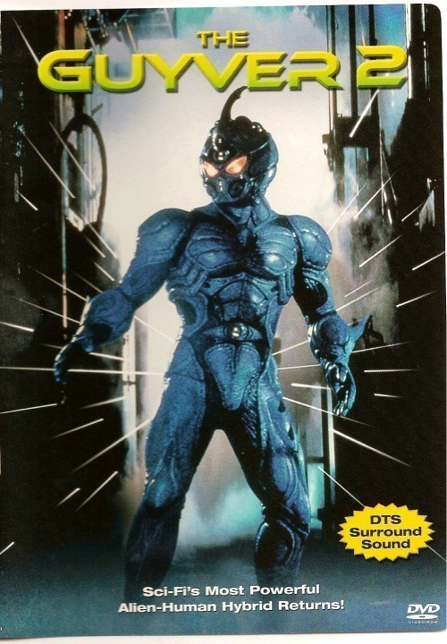 Guyver: Dark Hero is similar to Star Wars.