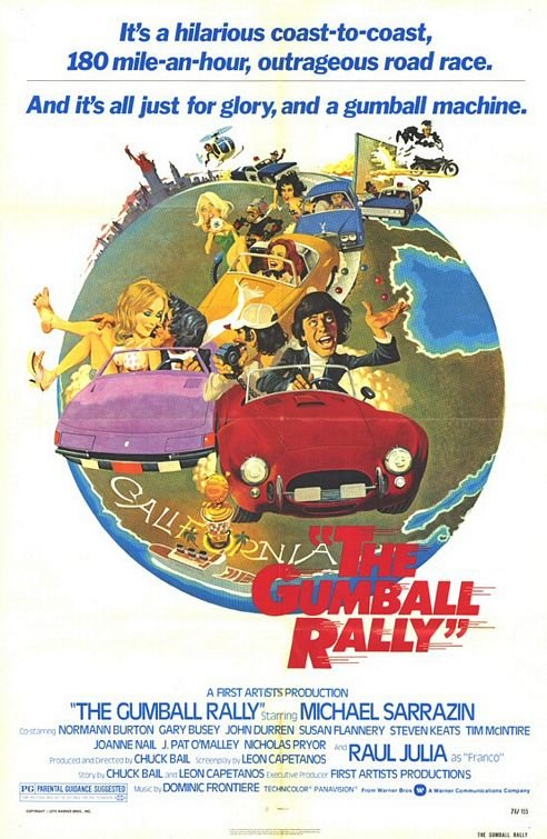 The Gumball Rally is similar to Storm.