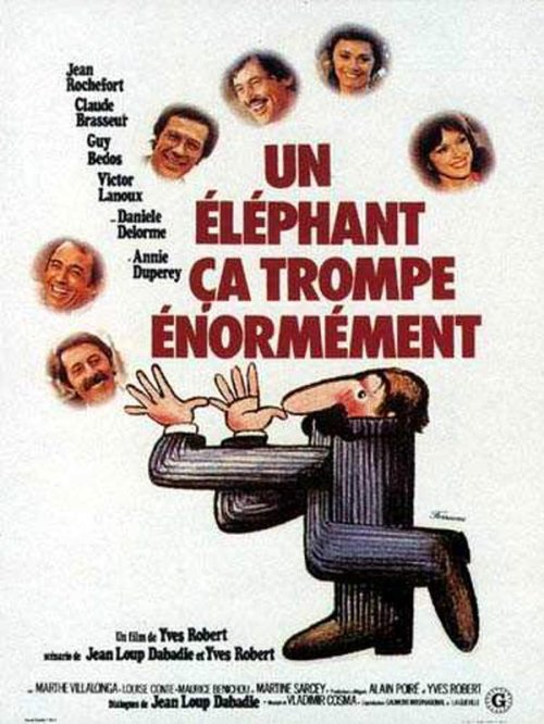 Un elephant ca trompe enormement is similar to One Crazy Cruise.