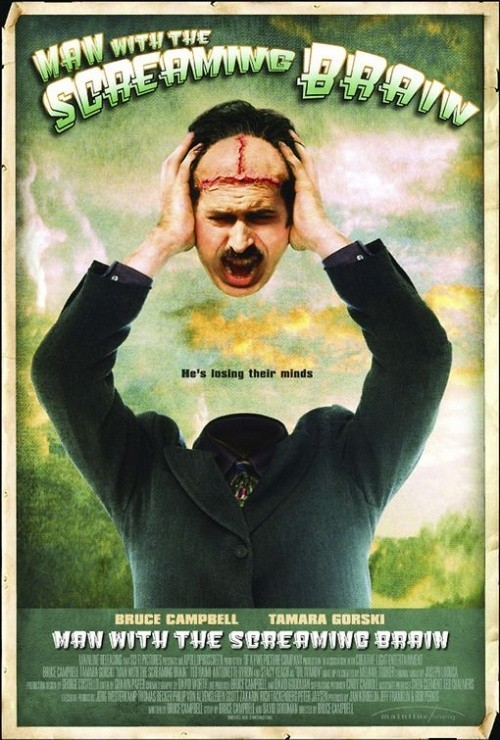 Man with the Screaming Brain is similar to PolandJa.