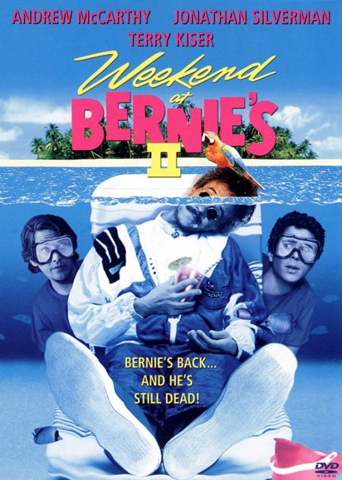 Weekend at Bernie's II is similar to Les beaux jours.