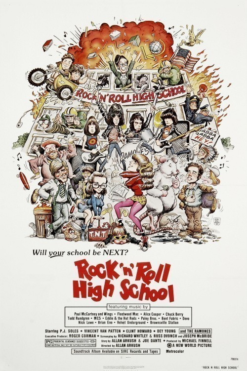 Movies Rock «n» Roll High School poster