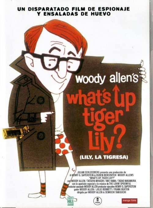 Movies What's Up, Tiger Lily? poster
